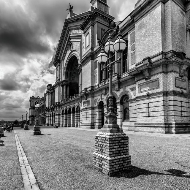 """Alexandra Palace, North London"" stock image"