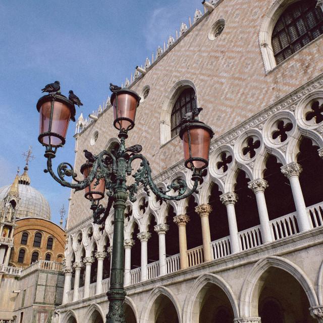 """""""Basilica San Marco"""" stock image"""