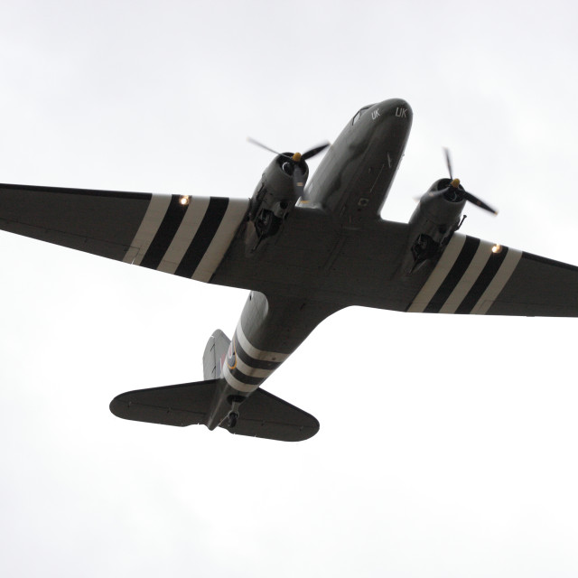"""Douglas C-47 Dakota"" stock image"