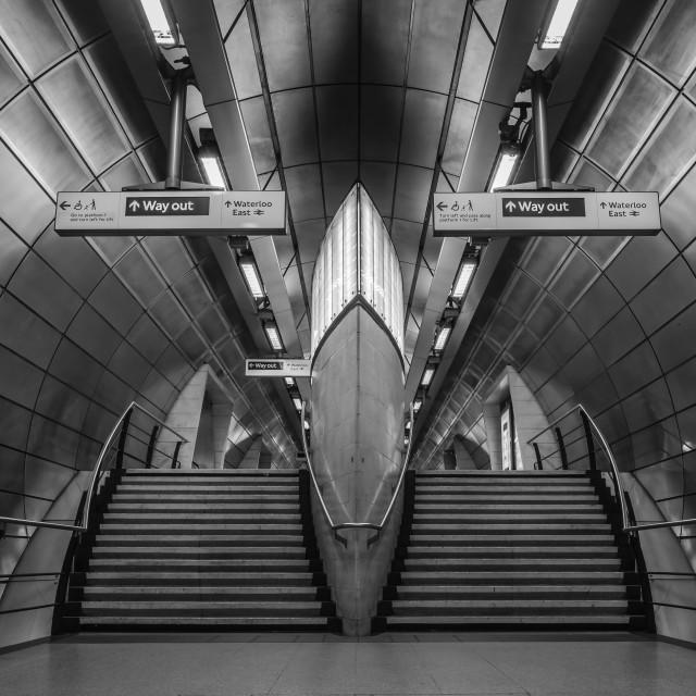 """Empty Station"" stock image"