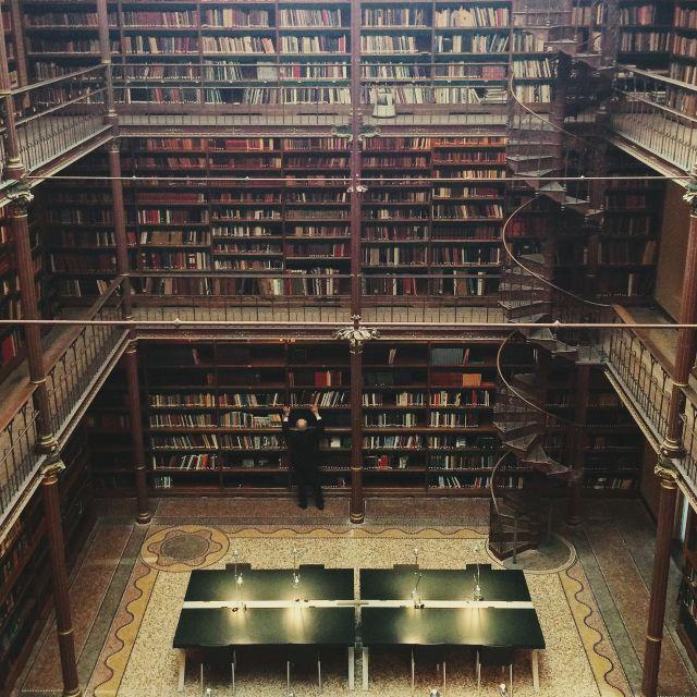 """Rijksmuseum library"" stock image"