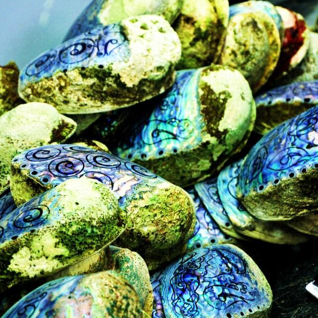 """Abalone Jewellery Factory"" stock image"