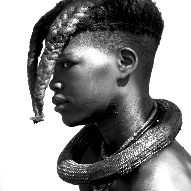"""Himba #2"" stock image"
