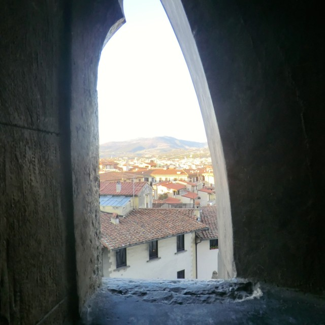 """Window to Florence"" stock image"