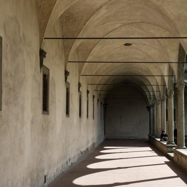 """Inside The Basilica"" stock image"