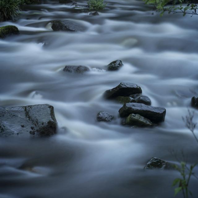 """""""River Derwent, County Durham"""" stock image"""