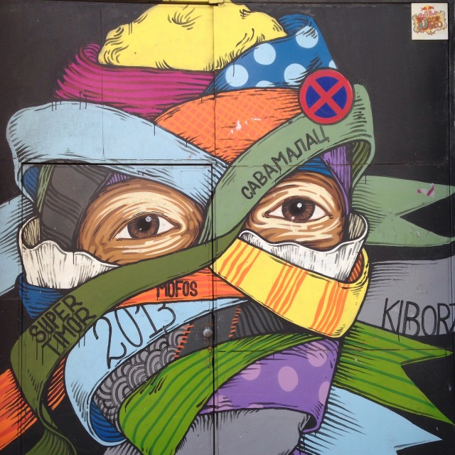 """Belgrade street art"" stock image"