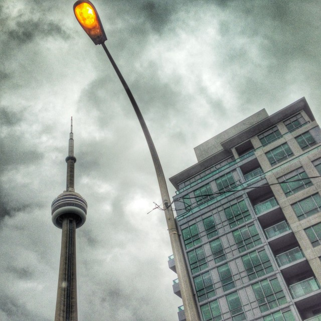 """CN Tower"" stock image"