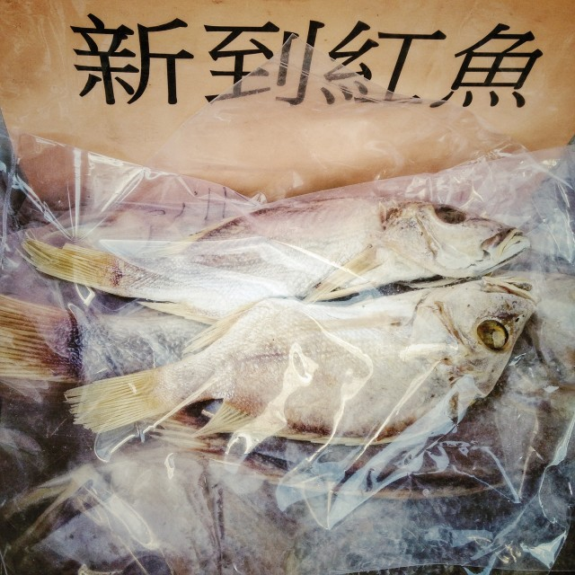 """Dried fish"" stock image"