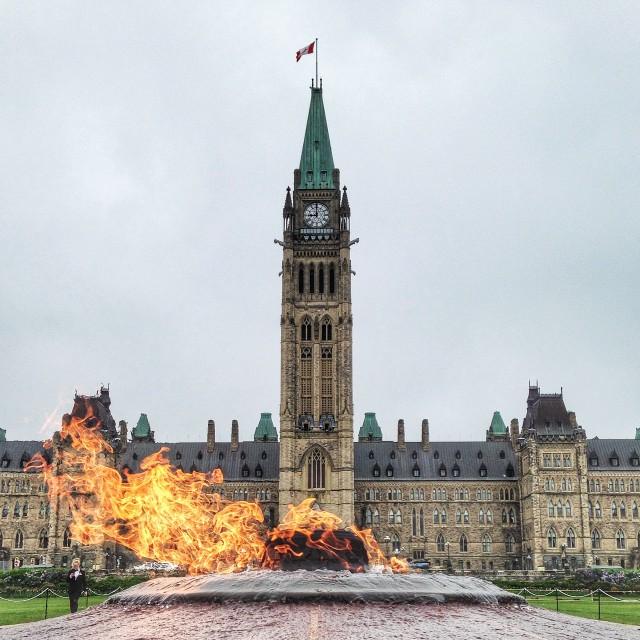 """Parliament Hill, Ottawa"" stock image"