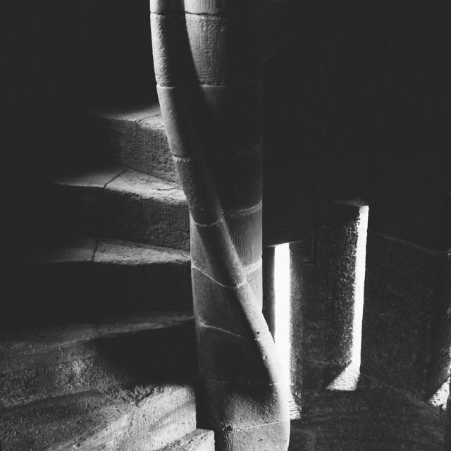 """""""Spiral Staircase"""" stock image"""