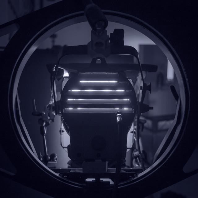 """Film Lighting Rig"" stock image"
