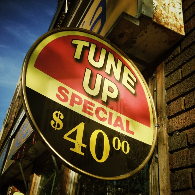 """Tune up"" stock image"