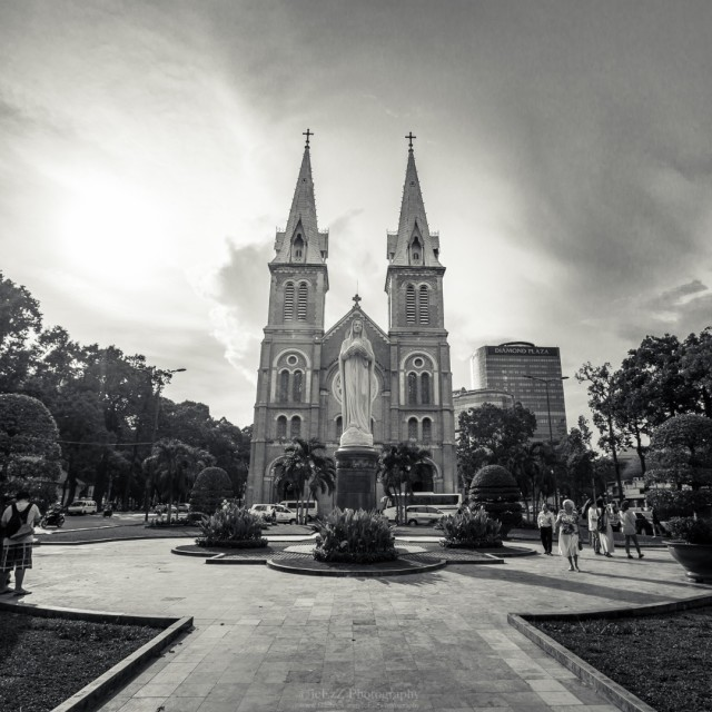 """Notre-Dame Cathedral in Ho Chi Minh City, Vietnam"" stock image"