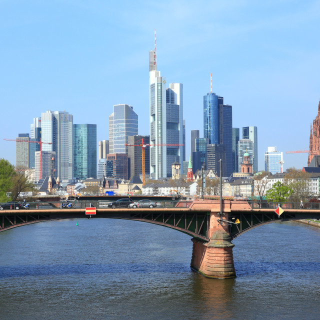 """Frankfurt 14"" stock image"