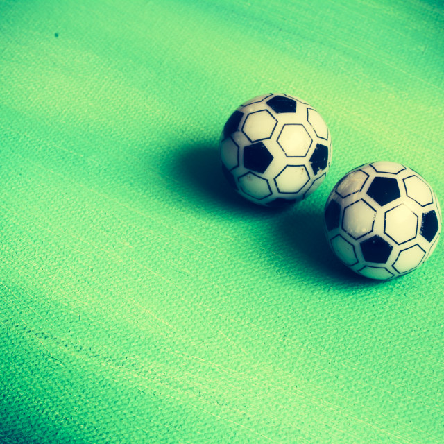 """""""Toy soccer"""" stock image"""