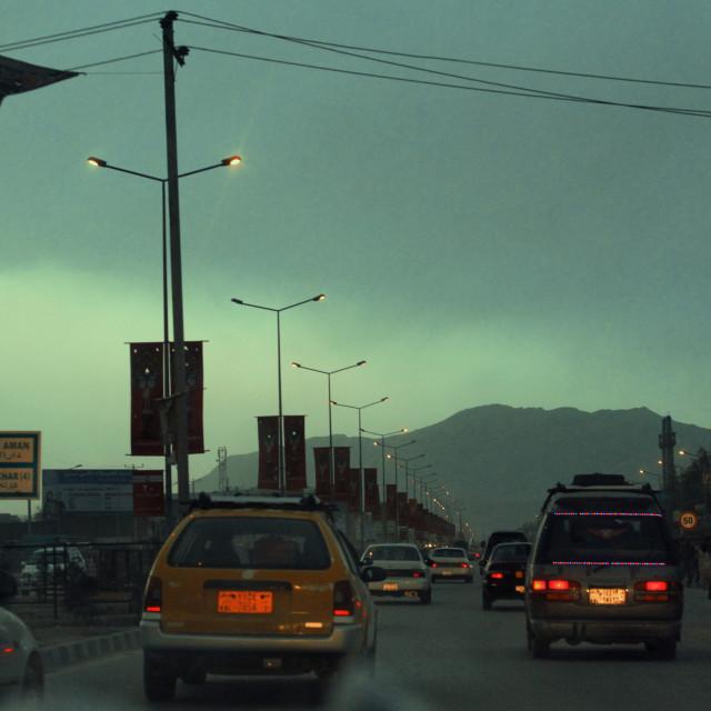 """Darulaman Street"" stock image"