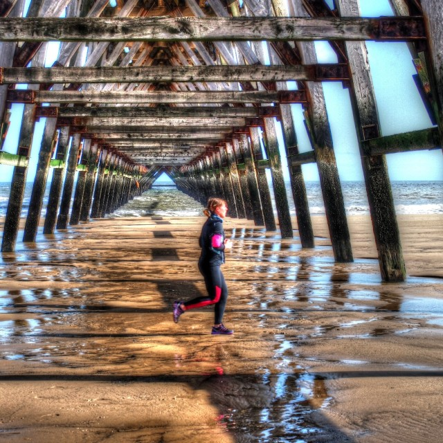 """Steetly Pier"" stock image"