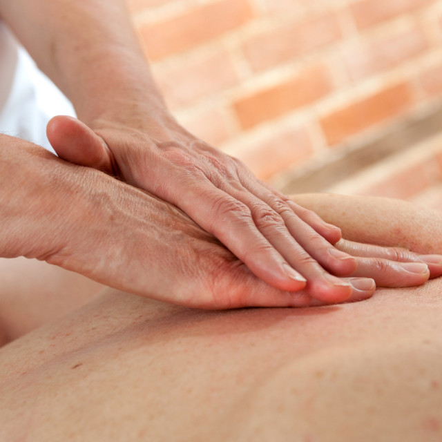 """Massage"" stock image"