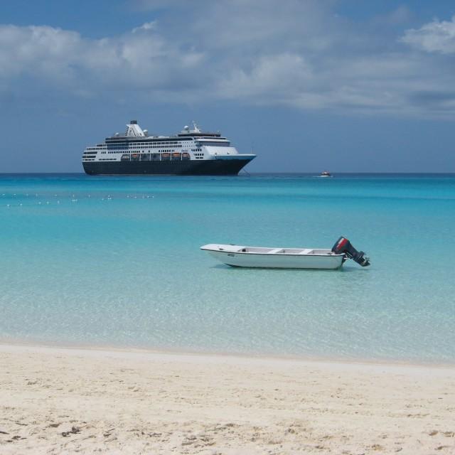"""""""Bahamas beach"""" stock image"""