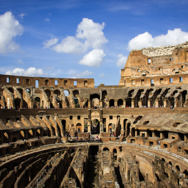"""""""The Colosseum"""" stock image"""
