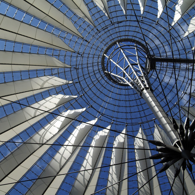 """Sony Centre Berlin"" stock image"