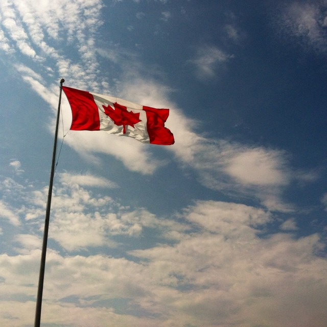 """Canadian breeze"" stock image"