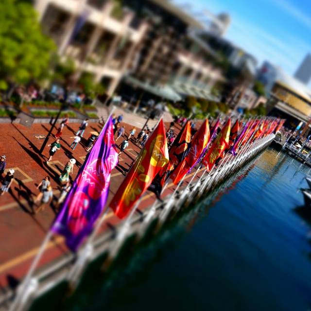 """Darling Harbour, Sydney"" stock image"