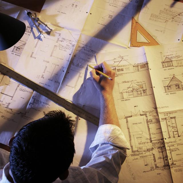 """The architect"" stock image"