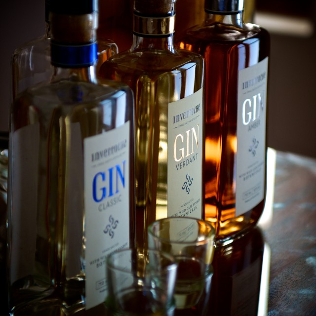 """Gin Flavours"" stock image"