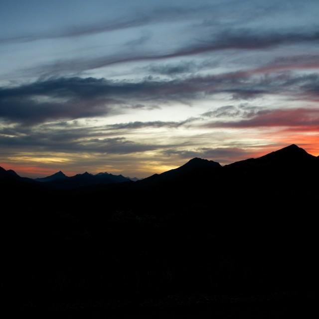 """Swartberg Sunset"" stock image"