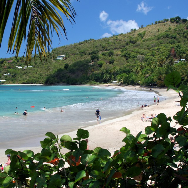 """Tortola beach"" stock image"