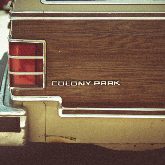 """Colony Park"" stock image"