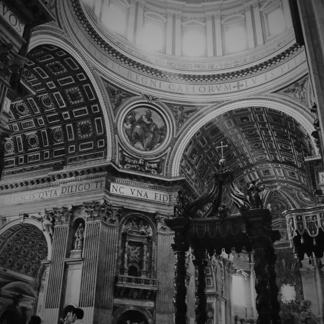"""St Peter's Basilica"" stock image"
