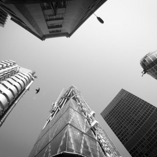 """The City, London"" stock image"