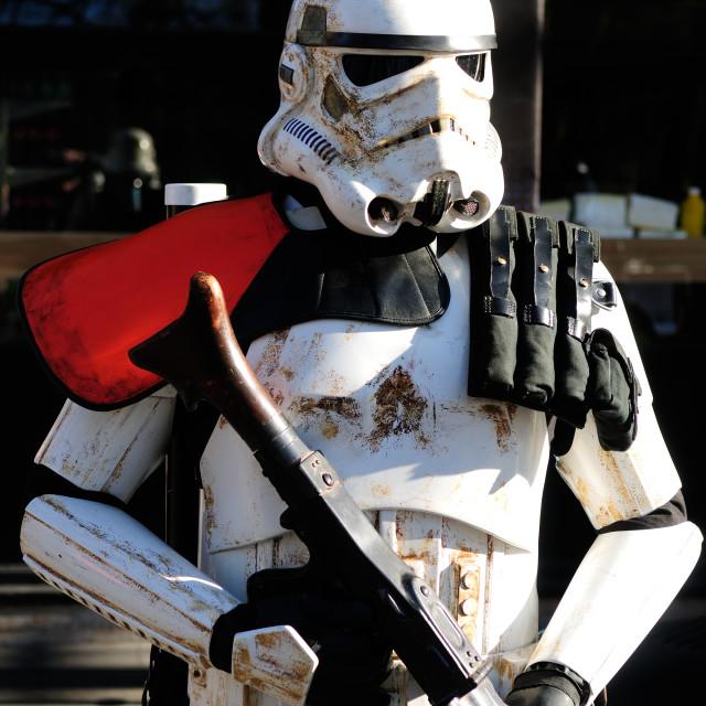 """Storm Trooper ."" stock image"