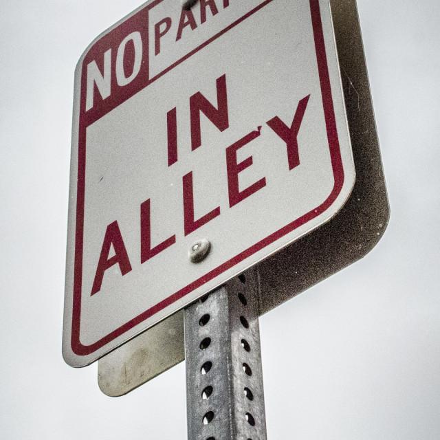 """No Parking"" stock image"