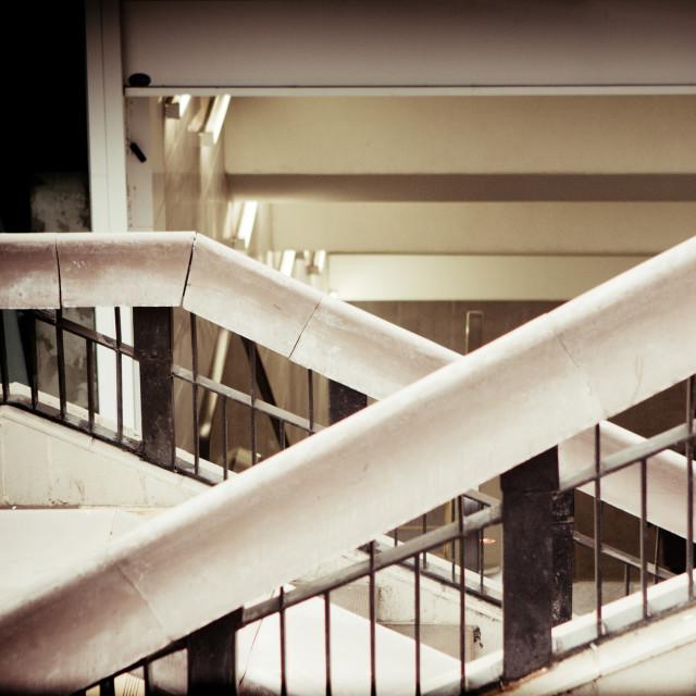 """Urban stairs"" stock image"