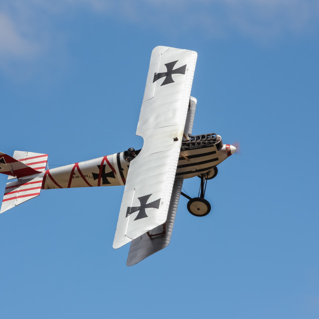 """German Pfalz D.III aircraft"" stock image"