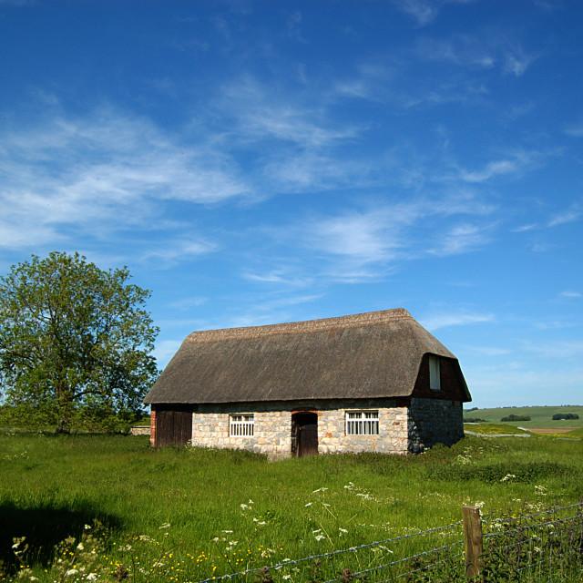 """Farm house"" stock image"
