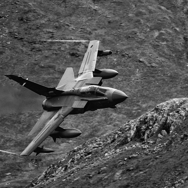 """RAF GR4"" stock image"