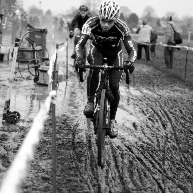 """""""Cyclo-Cross Race ."""" stock image"""