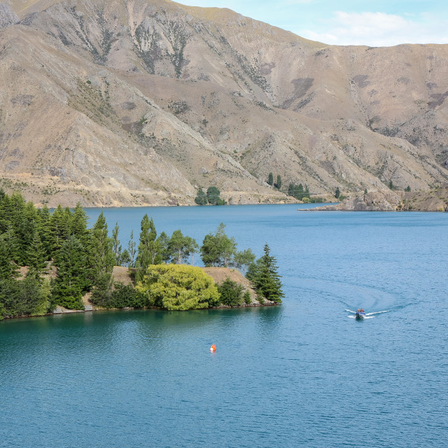 """""""Lake Benmore"""" stock image"""