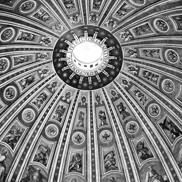 """Basilica roof"" stock image"