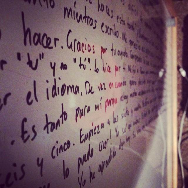 """Language Wall"" stock image"