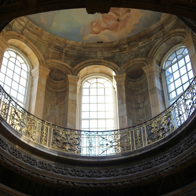 """Castle Howard Gallery"" stock image"