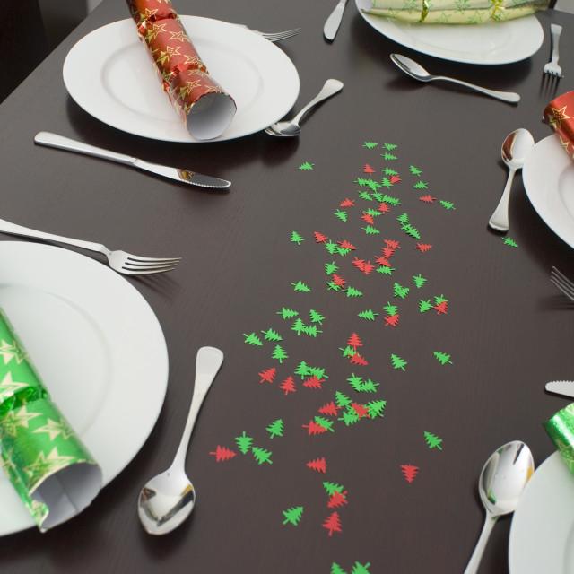 """festive table"" stock image"