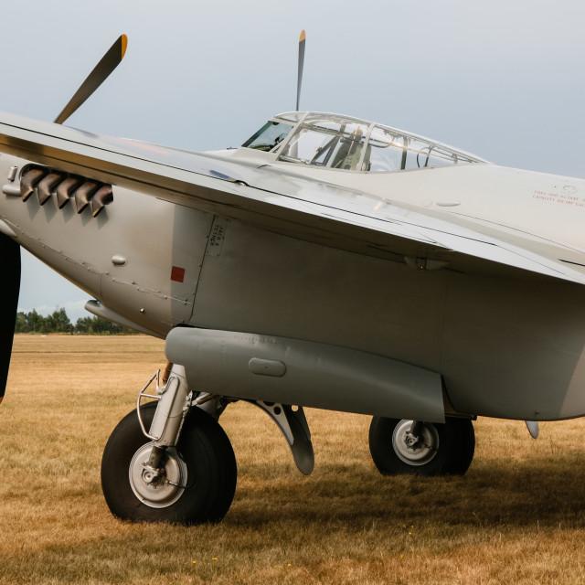 """De Havilland Mosquito"" stock image"