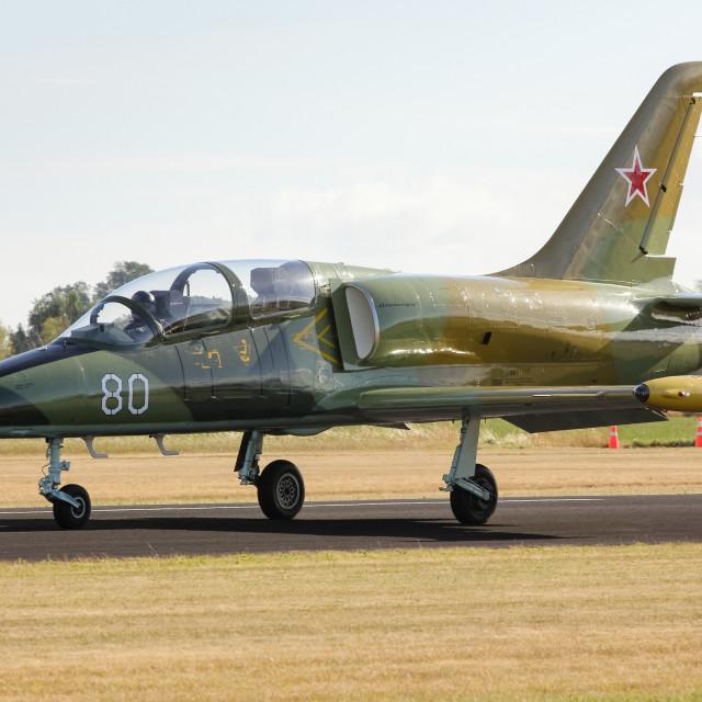 """Albatros jet aircraft"" stock image"