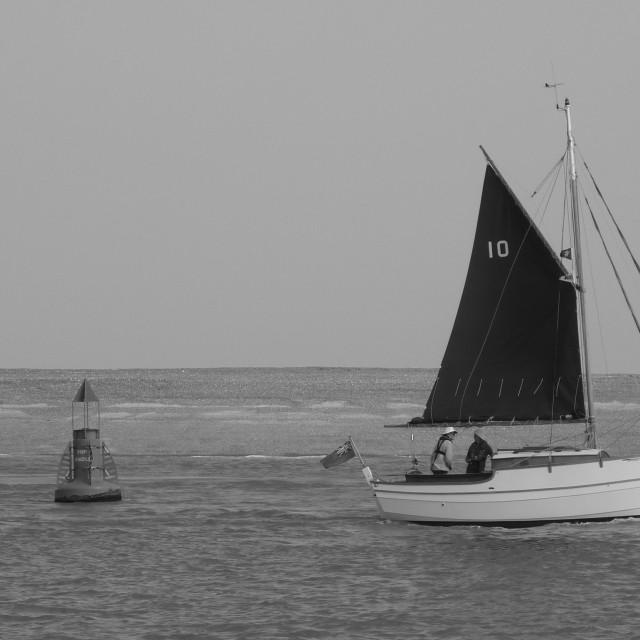 """Morning Sail"" stock image"